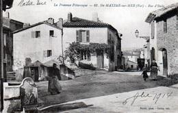 Rue D'Italie En 1914 - Sainte-Maxime