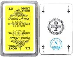 Jeu De 32 Cartes Publicitaire LE MONT ST MICHEL Playing Card - 32 Cartes