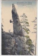 Schrammsteine Sächsische Schweiz .. 1924 - Bad Schandau