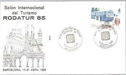 MATASELLOS 1985 BARCELONA  RODATUR - 1931-Hoy: 2ª República - ... Juan Carlos I