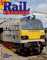 Revue RAIL PASSION N°01, CF De Provence, Réseau Breton, Matériel Moteur, Locomotives Entente Cordiale, Poster CC 6500 - Railway & Tramway