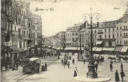 Bonn A Rh Markt  Tram à Chevaux RV - Bonn