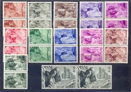 Nrs. 556/567 In Paar Postgaaf ** MNH Zeer Mooi - België