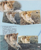 Hong Kong - 1995 WWF - $50 Lion - Mint In Folder - Hong Kong