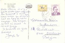 IZMIR MARMOR STRASSE CARTOLINA PER BELGIO - Brieven En Documenten