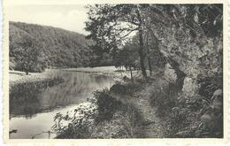 Au Bord De La Semois - Sentier CORBION - BOUILLON - CPA PEU COURANTE - Cachet De La Poste 1958 - Bouillon
