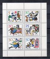 Germania - DDR - 1966 - Blocco Foglietto - Fiabe Dei Fratelli Grimm - Nuovo - (FDC20057) - [6] Oost-Duitsland