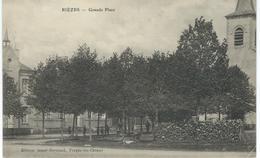RIEZES : Grande Place - RARE VARIANTE - Courrier De 1913 - Chimay