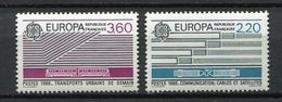 France 1988 MNH Nuevo Europe Communication - Francia