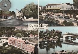 94 - Carte Postale Semi Moderne Dentelée De  BRY SUR MARNE   Multi  Vues - Bry Sur Marne