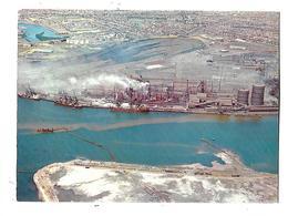AUSTRALIE---NEWCASTLE--aerial View Of B. H. P. ---voir 2 Scans - Newcastle