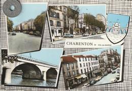 94 - Carte Postale Semi Moderne Dentelée De  CHARENTON  LE PONT   Multi  Vues - Charenton Le Pont