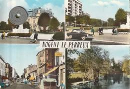 94 - Carte Postale Semi Moderne Dentelée De   NOGENT LE PERREUX    Multi  Vues - Other Municipalities