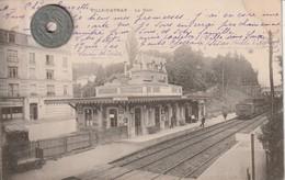 92- Carte Postale Ancienne De  VILLE D'AVRAY    La Gare - Ville D'Avray