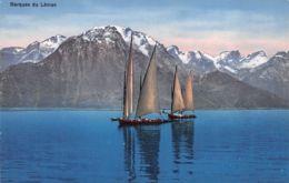 Lac Léman (Suisse) - Barques - Suisse
