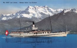 Lac Léman (Suisse) - Bateau Salon La Suisse - Suisse