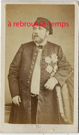 A Voir CDV EGYPTE Vers 1869 Ismaïl PACHA, Wali (vice-roi)  Puis Khédive D'Egypte Et Du Soudan De 1863 à 1869 - Old (before 1900)