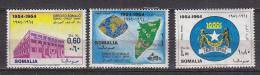 D0042 - SOMALIE Yv N°32 + AERIENNE ** SOMAL CREDIT - Somalie (1960-...)