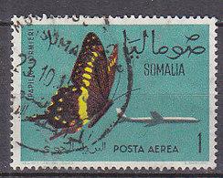 D0127 - SOMALIE SOMALIA AERIENNE Yv N°10 PAPILLONS BUTTERFLIES - Somalie (1960-...)
