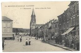 CPA 54 BACCARAT Eglise Et Rue Des Ponts - Baccarat