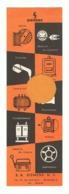 Marque Pages Publicitaire - S.A. SIEMENS à Bruxelles - Recto / Verso = NL / FR ( B260/5) - Marque-Pages