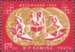 MINT STAMPS Romania - Olympic Games - Melbourne 1956 & Rome 1960  -1973 - 1948-.... Républiques