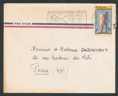 République Centrafricaine N°42 Unité Nationale Sur Lettre - Centrafricaine (République)
