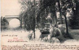 CPA   SUISSE---ZURICH---PARTIE AM ZURICHHORN---1903 - ZH Zurich