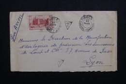 A.O.F.- Enveloppe De Bamako Pour Lyon Avec Cachet De Taxe - L 53570 - Lettres & Documents