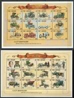 PK324 GAMBIA TRANSPORTATION CARS 100TH ANNIVERSARY 1893 KARL BENZ HENRY FORD 2SH MNH - Cars