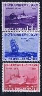 Romenia: 1936, Mi Nr 519 - 521, MNH/**, Ships - Unused Stamps