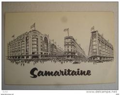 PARIS SAMARITAINE CARTE PUBLICITAIRE - District 01
