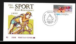 Germany FDC Berlin 1999 Für Den Sport (G109-35) - [7] Federal Republic