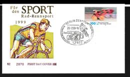 Germany Cover 1999 Berlin Cycling Rennsport (G109-35) - Wielrennen