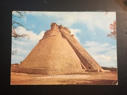 Arte Precolombino. Mexico. Primer Plano Piramide Del Adivino. - Antigüedad