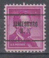 USA Precancel Vorausentwertung Preo, Locals New Jersey, Jamesboro 704 - Vereinigte Staaten