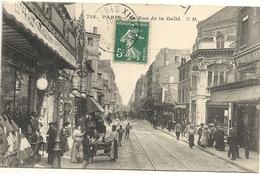 75  PARIS RUE  DE  LA  GAITE  (  MARCHANDE DES 4 SAISONS + THEATRE DE LA GAITE  MONPARNASSE ) - Arrondissement: 14