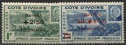 Côte D'Ivoire, N° 175 à N° 176** Y Et T - Unused Stamps