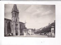 CPA PHOTO DPT 64  ORTHEZ, UNE PARTIE DE LA VILLE En 1957! - Orthez