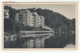 Bled, Veldes Gradn-Hotel Old Postcard Posted 1946 To Beograd B202015 - Slovenia
