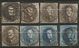 Belgique - Médaillons - Oblitérations D40 MONT-ST-GUIBERT - Postmarks - Lines: Distributions