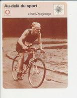 Henri Desgrange Vélo Ancien Cyclisme Sport 1FICH-DIV5 - Deportes