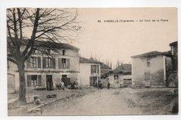 - CPA VINDELLE (16) - Un Coin De La Place 1929 (EPICERIE MERCERIE) - N° 82 - - Francia