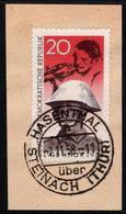 ✔️ DDR 1958 - November Revolution Auf Briefstück - Mi. 662 (o) - 65 Euro - DDR