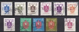 EG714 – EGYPTE – EGYPT – OFFICIAL – 1966-68 – SC # O80-O82/91 USED - Dienstzegels