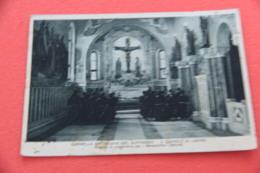 Vicenza S. Daniele Di Lonigo La Cappella Del Suffragio Con I Frati In Preghiera 1941 Pubblicitaria Probandato Antoniano - Vicenza