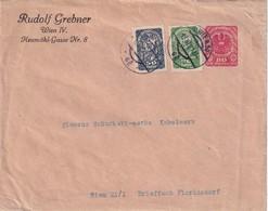 AUTRICHE 1921     ENTIER POSTAL  /GANZSACHE/POSTAL STATIONERY  PRIVE DE WIEN - Entiers Postaux