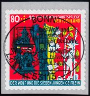 3526 Der Wolf Und Die Sieben Geißlein, Sk Mit GERADER Nummer, EV-O Bonn - [7] République Fédérale
