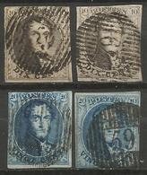 Belgique - Médaillons - Oblitérations D59 WELLIN - Poststempels/ Marcofilie