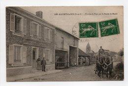 - CPA LES ALLUETS-LE-ROI (78) - Entrée Du Pays Par La Route De Maule (CAFÉ-VINS L. GOUPY) - Edition Doliget - - Autres Communes
